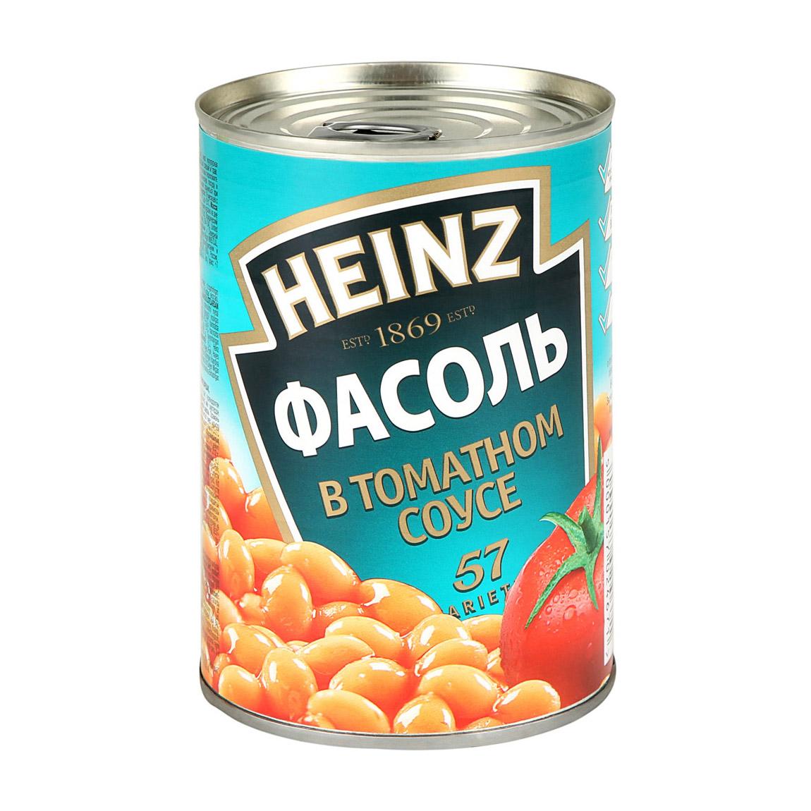 Фасоль Heinz в томатном соусе 415 г.
