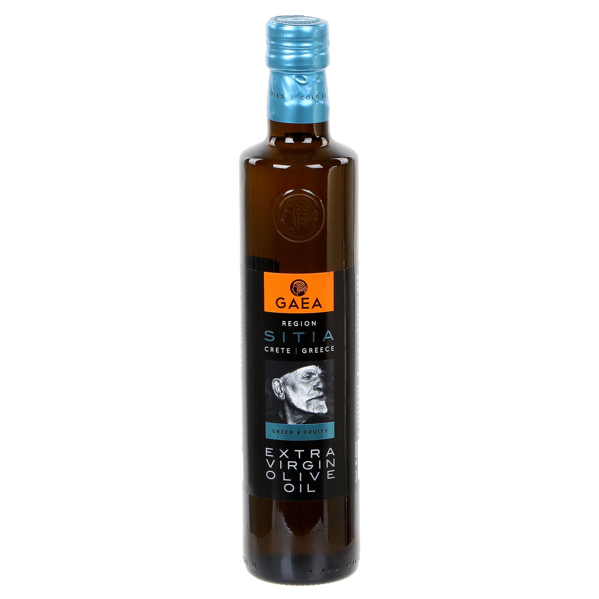 оливковое масло sitia extra virgin в жестяной банке 3 л греция Масло оливковое Gaea Sitia Extra Virgin 500 мл