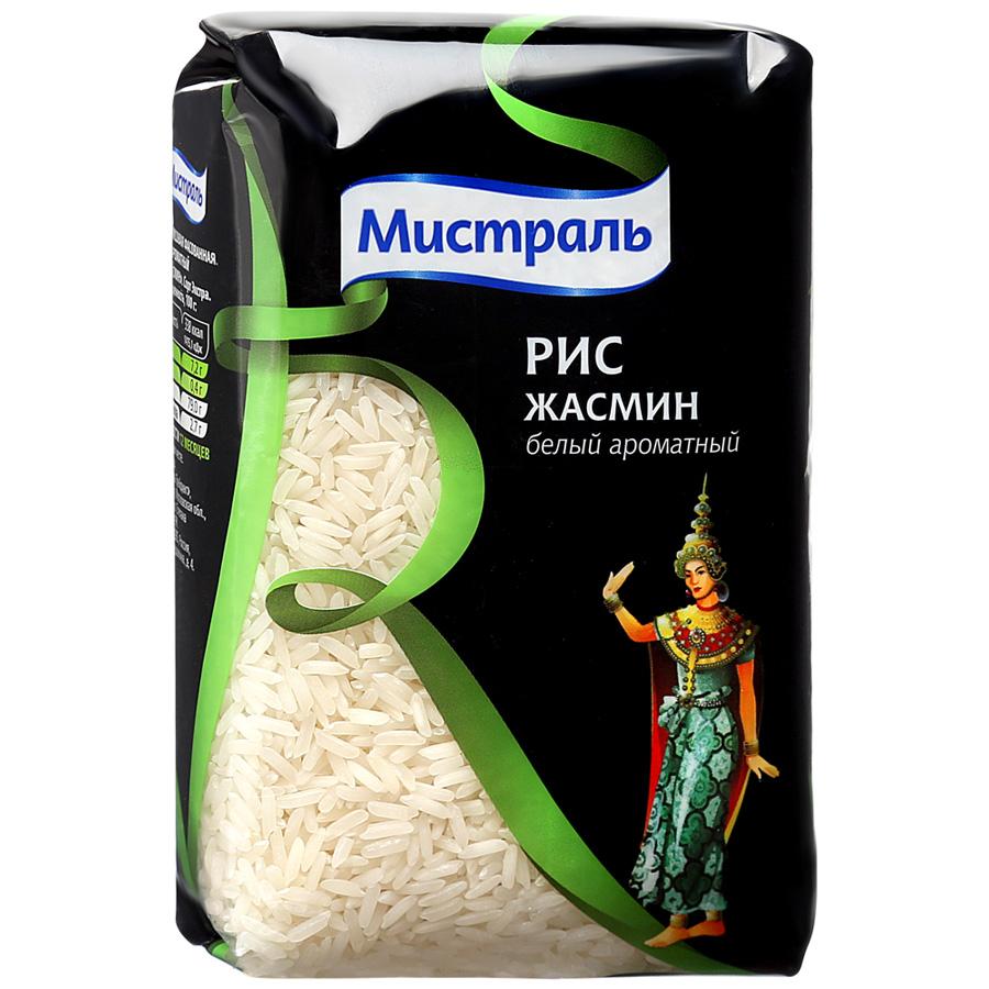Рис Мистраль Жасмин белый ароматный 500г мистраль рис жасмин мистраль 0 4 кг