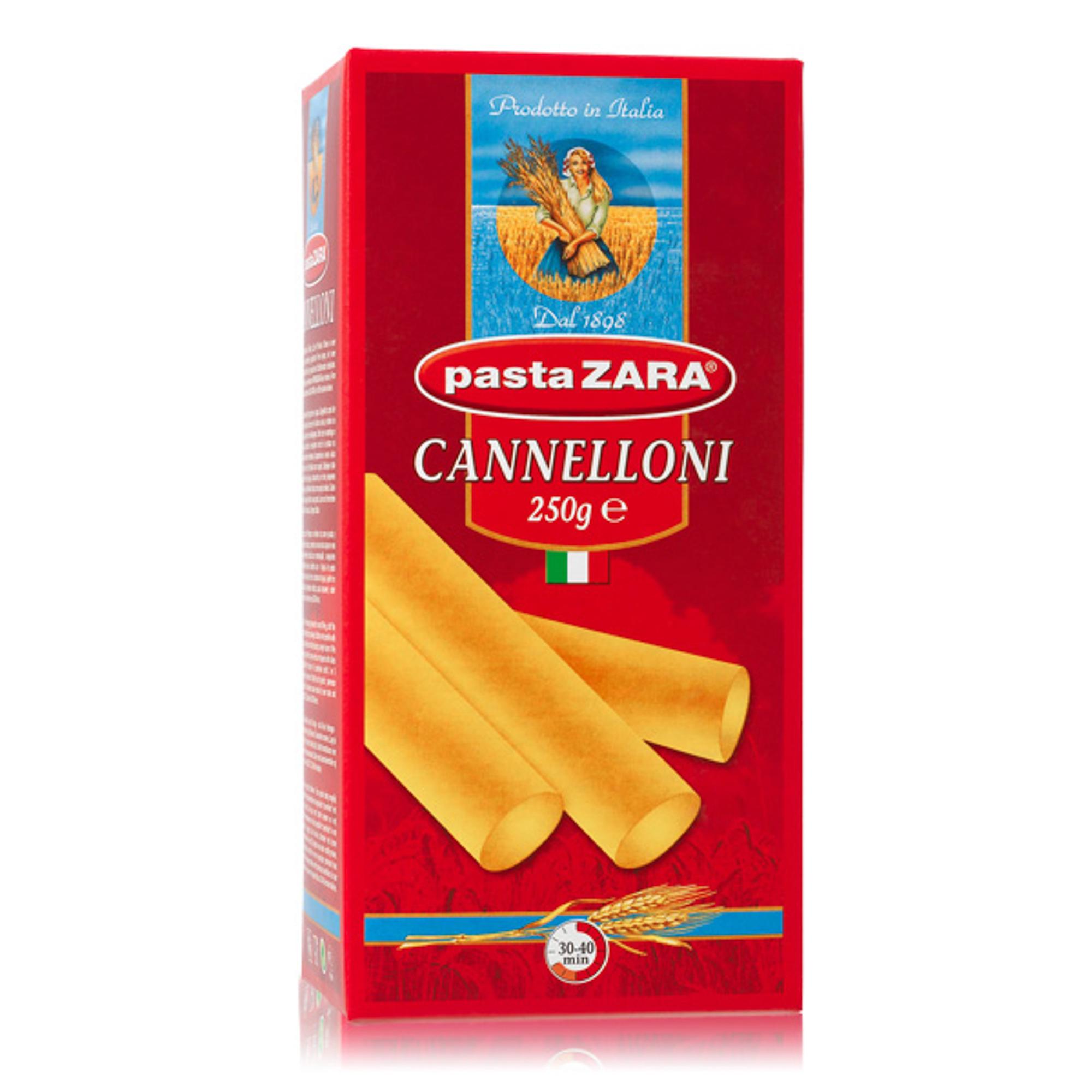 Макаронные изделия Pasta Zara Канеллони №115 250 г