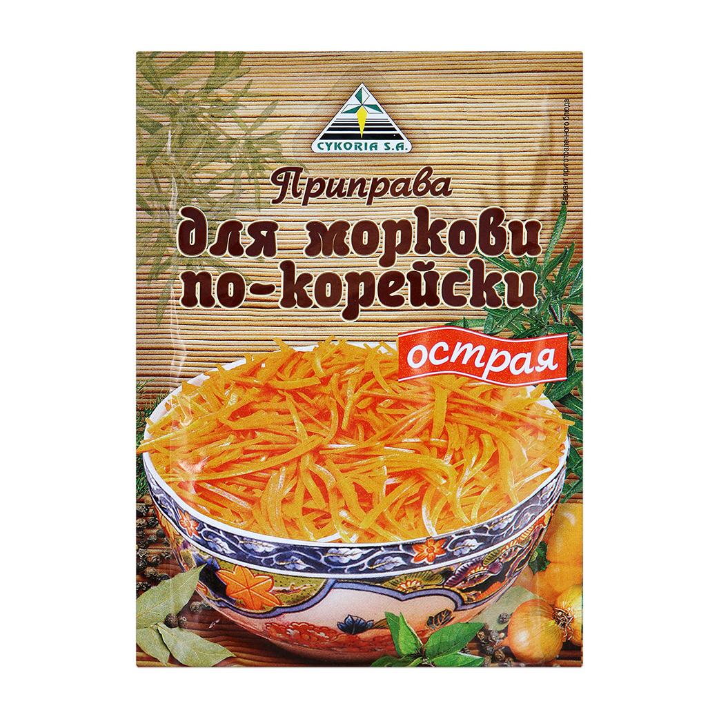Приправа Cykoria для моркови по-корейски 30 г а а васильев читаем по корейски