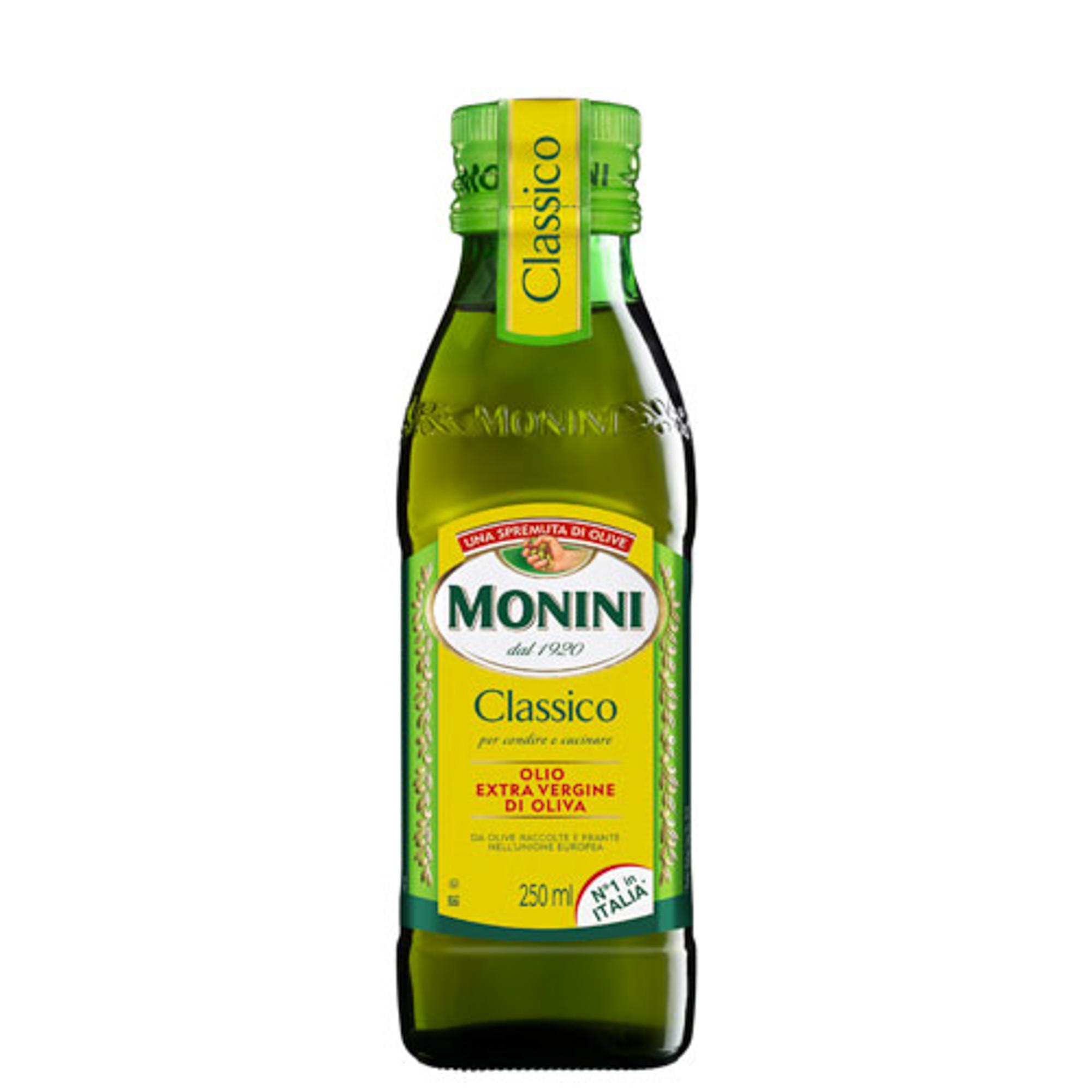 Масло оливковое Monini Classico Extra Virgin 250 мл korvel оливковое масло extra virgin греция данае 250 мл