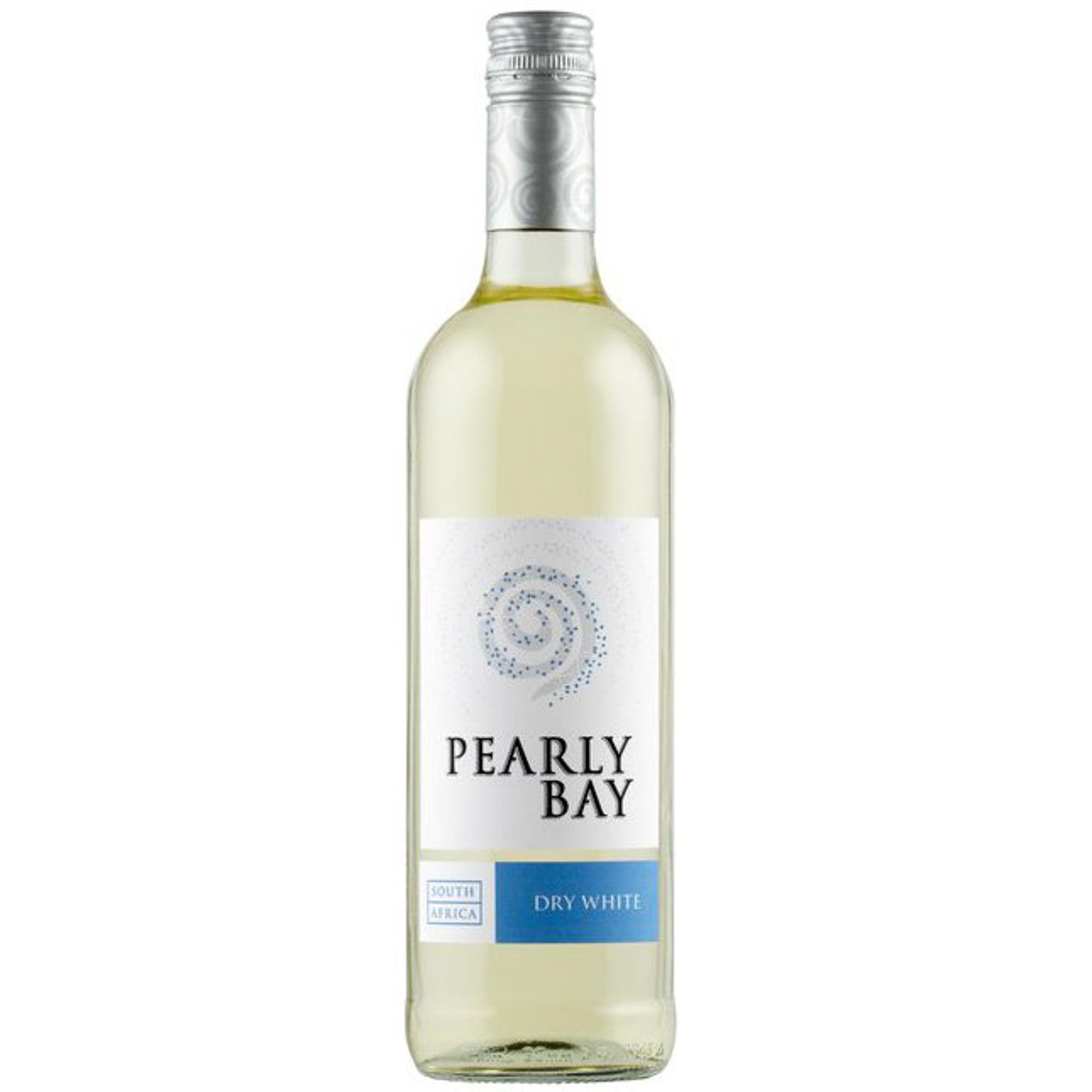 Купить Вино белое сухое Pearly Bay Dry White 0, 75 л, ЮАР, Бледно-желтый