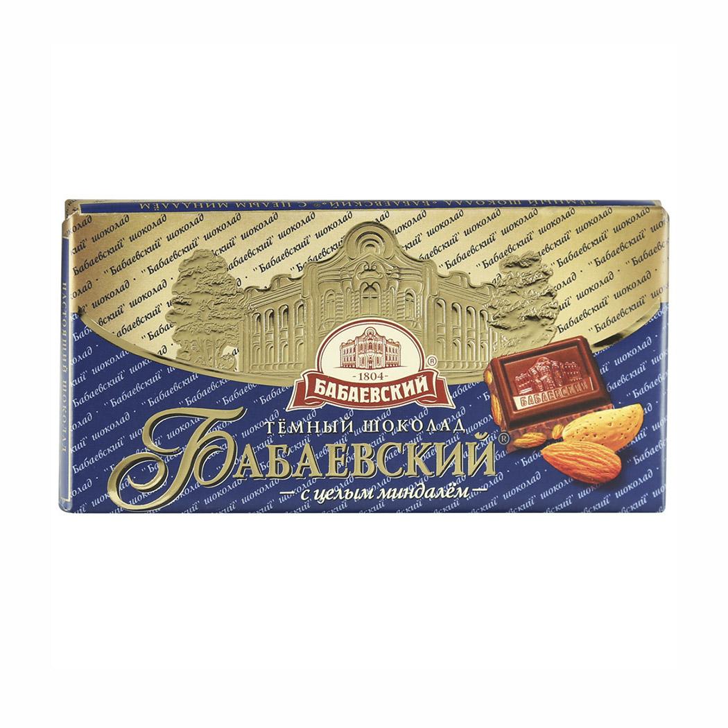 шоколад bucheron village горький с миндалем 100 г Шоколад Бабаевский Горький с целым миндалем 55% 100 г