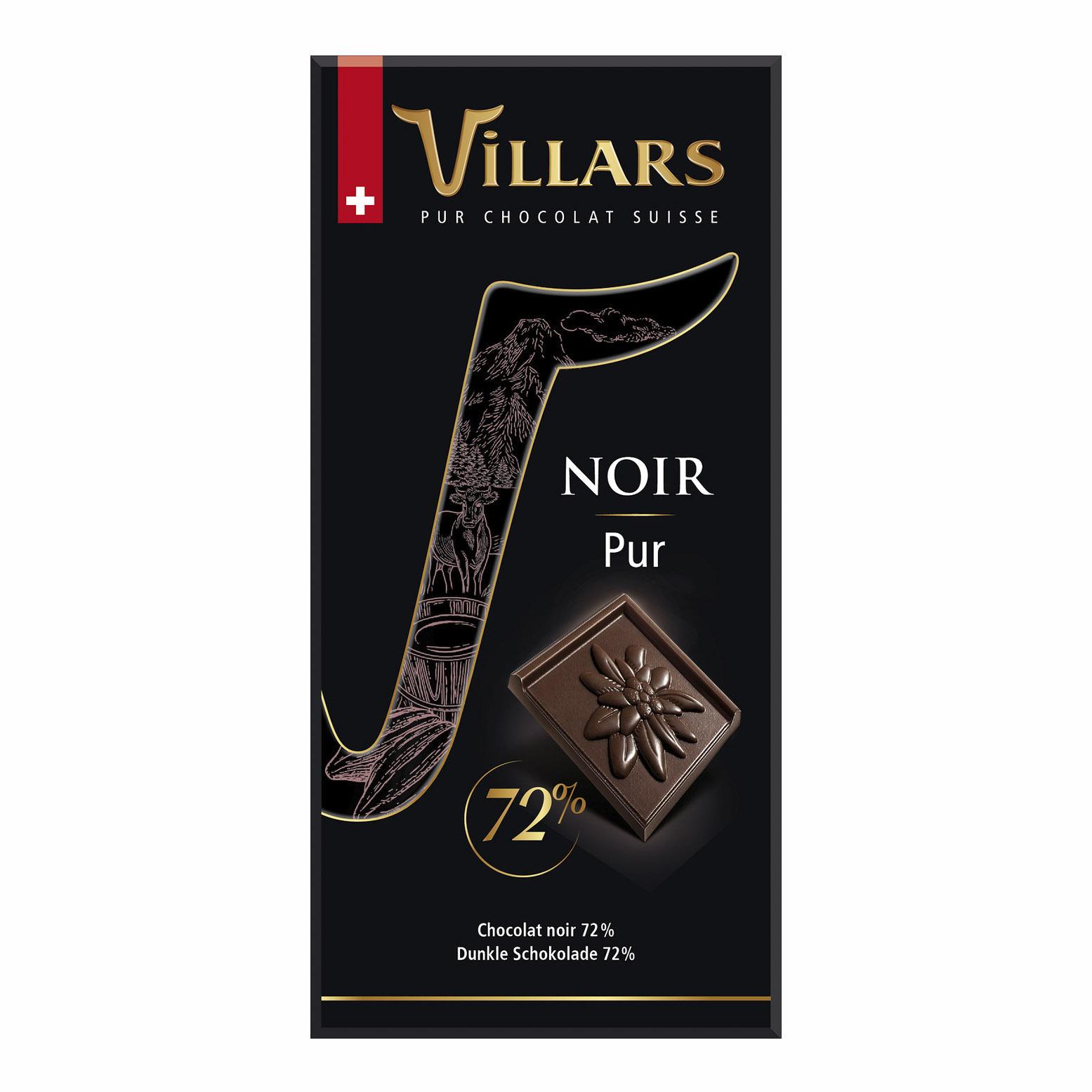 шоколад villars 72% горький 100 г Шоколад Villars 72% горький 100 г