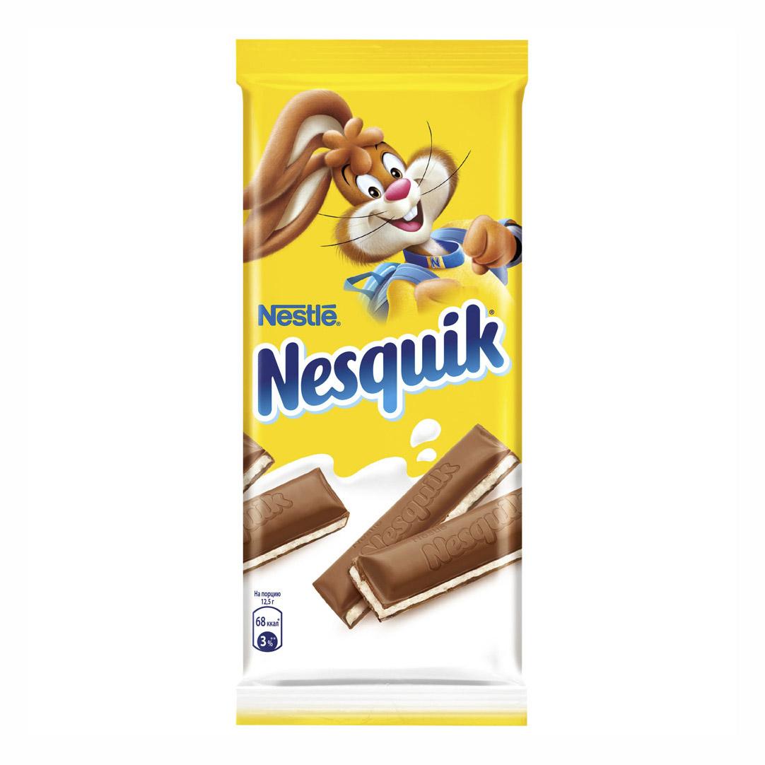 Шоколад Nesquik с молочной начинкой 100 г.