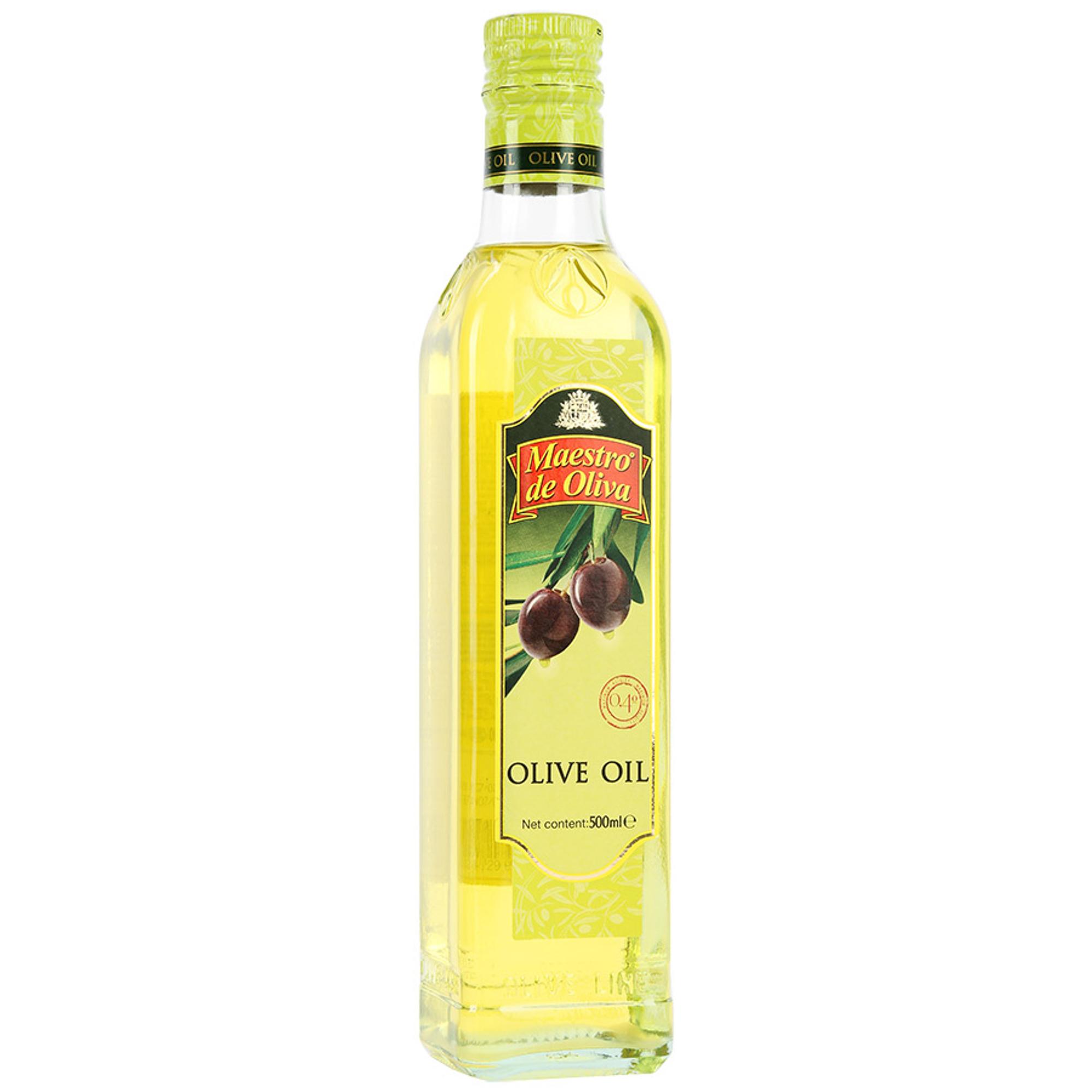 Масло оливковое Maestro de Oliva 500 мл oliva косметика