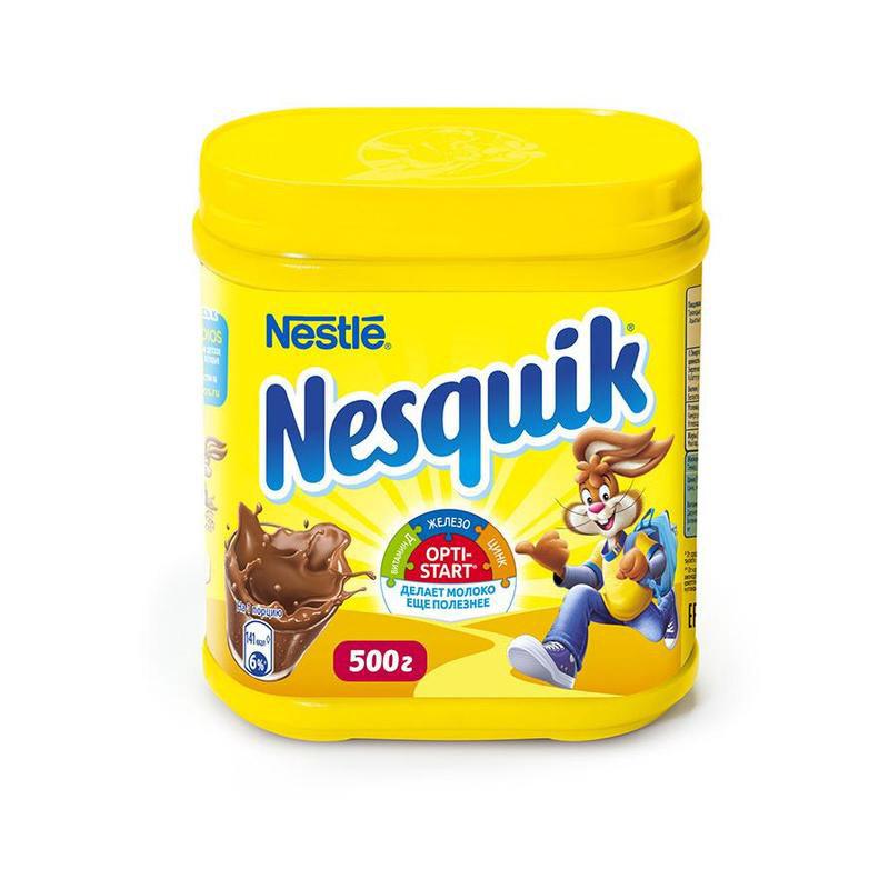 Какао-напиток Nesquik 500 г.