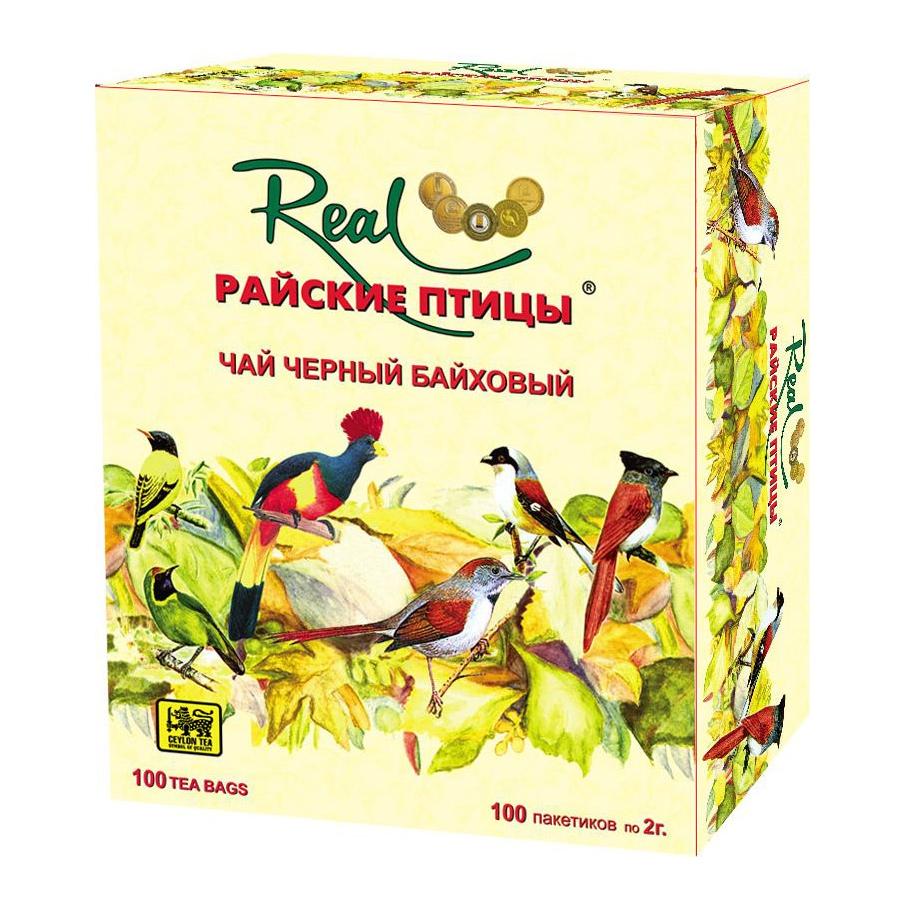 Чай черный Real Райские птицы 100 пакетиков