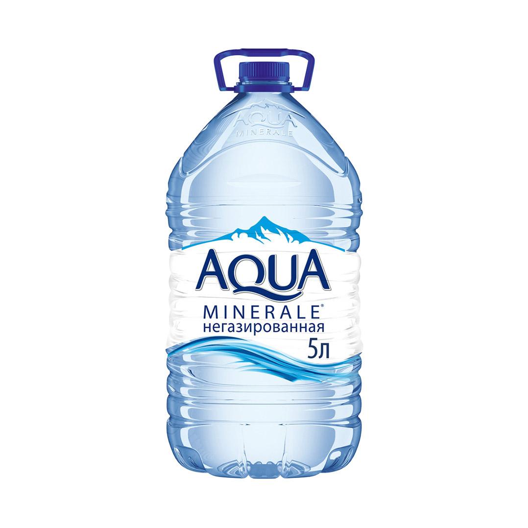 Фото - Вода питьевая Aqua Minerale негазированная 5 л вода aqua minerale малина 500 мл