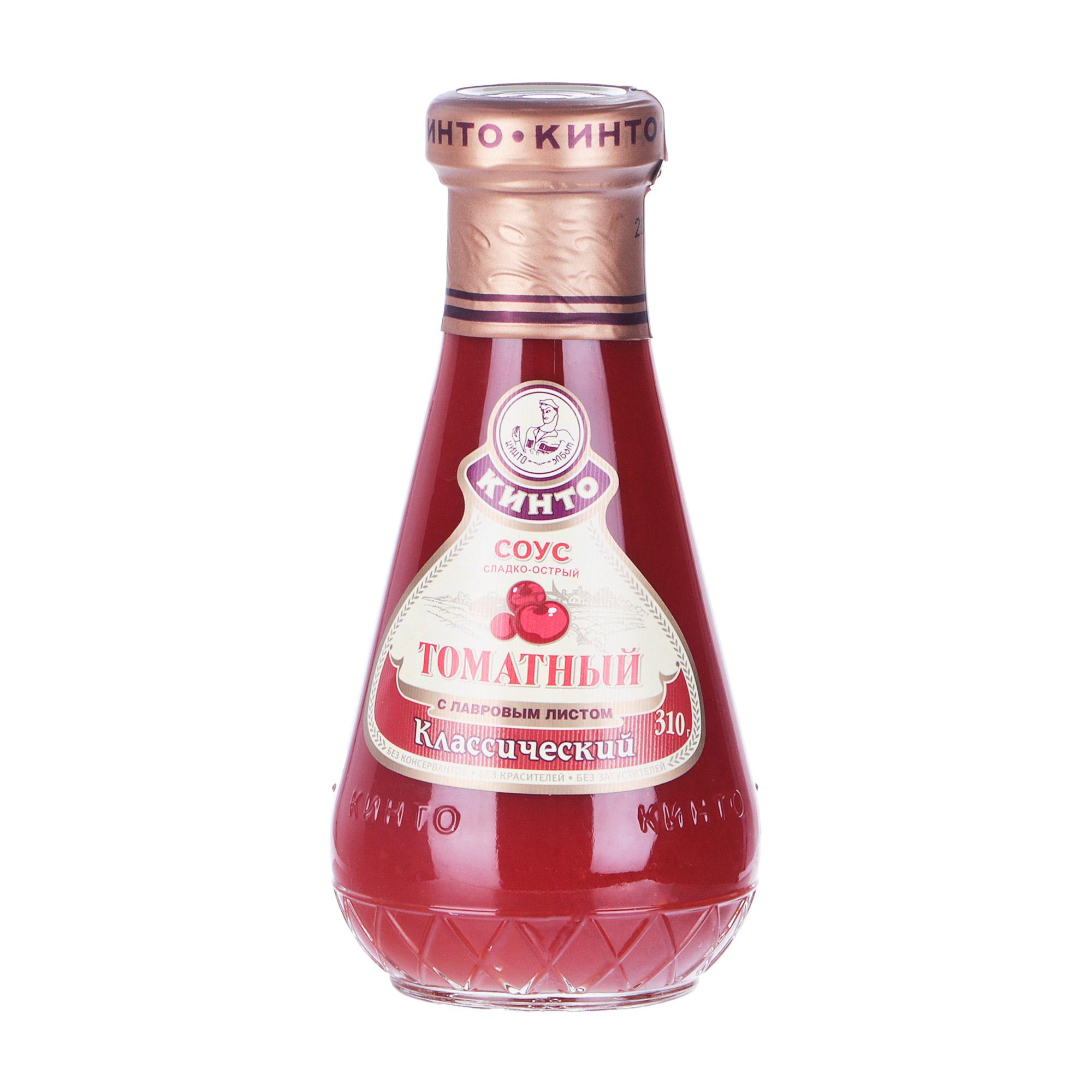 Соус Кинто томатный 310 г соус biomeals dieta sauce тысяча островов 310 г