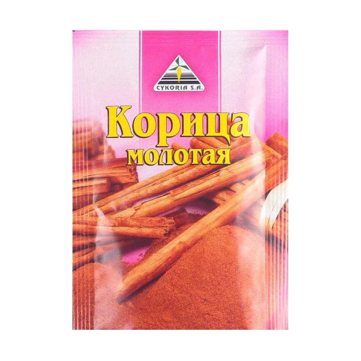 Корица молотая Cykoria 20 г kamis корица молотая для выпечки