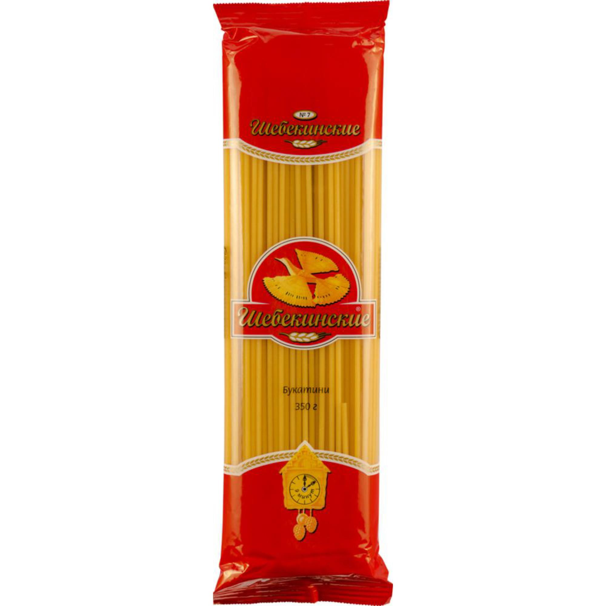 Макаронные изделия Шебекенские №7 Букатини 350 г макаронные изделия barilla букатини 9 400 г