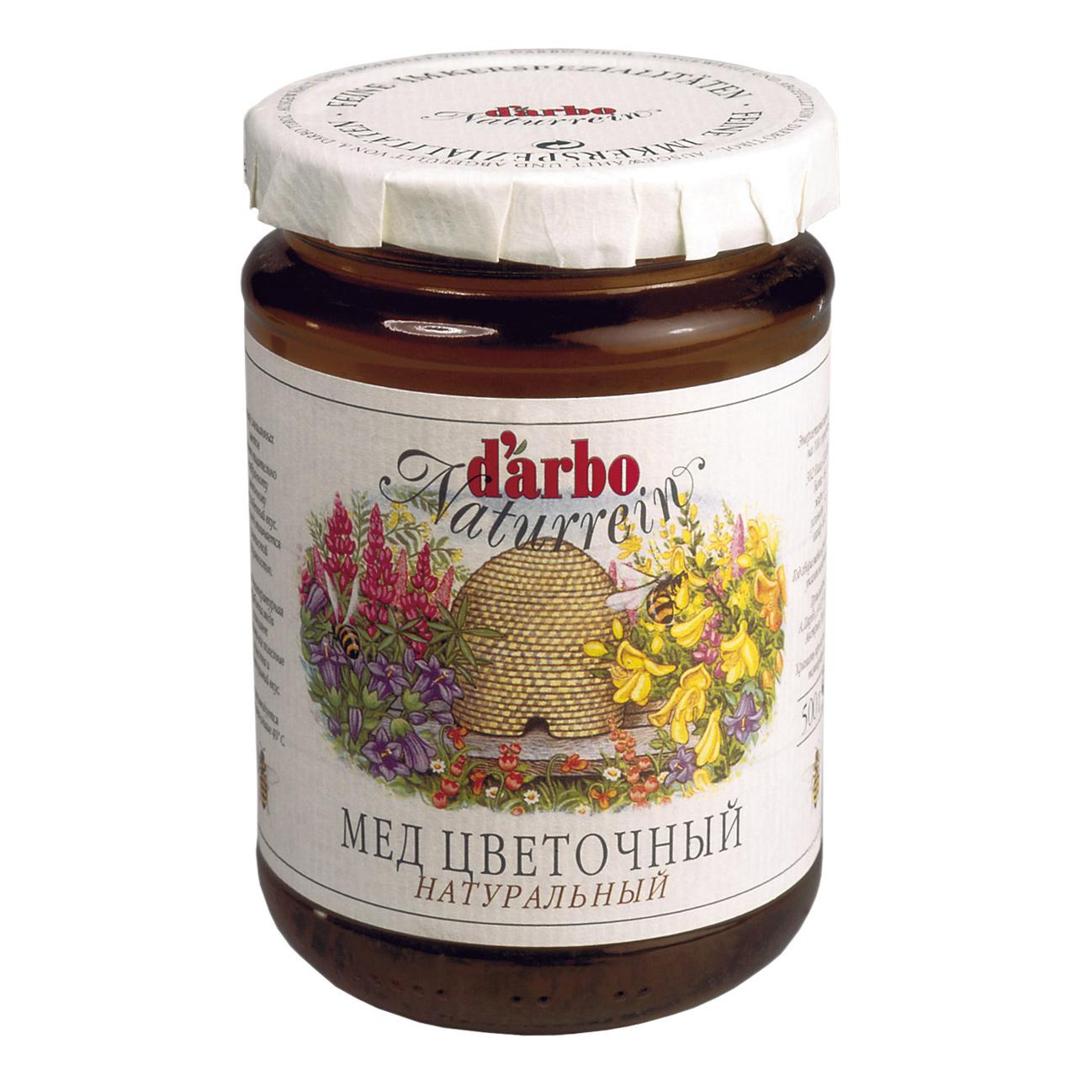 Мед Darbo цветочный 500 г мед дикий мед башкирский цветок цветочный 600 г