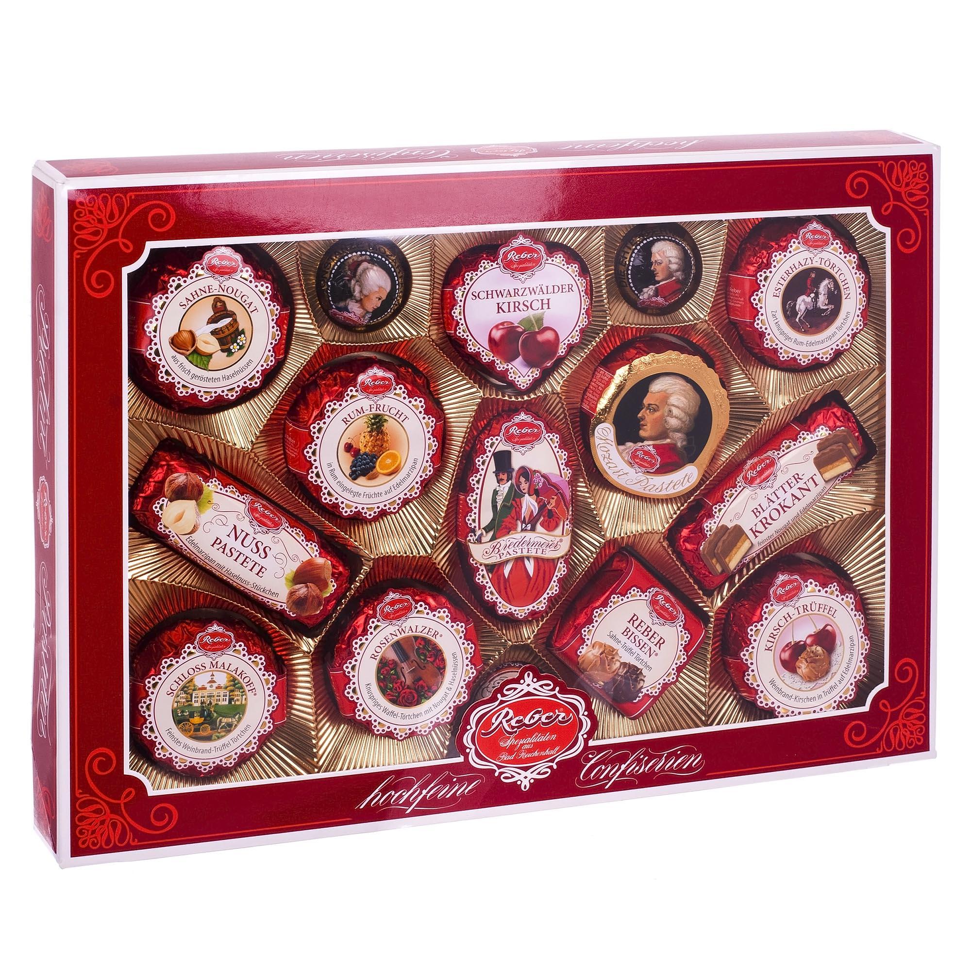 Набор конфет подарочный Моцарт Reber 500/525 г (1410103)