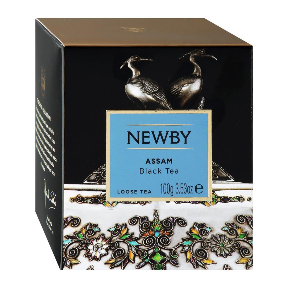 Чай черный Newby Assam листовой 100 г чай черный newby с чабрецом листовой 100 г
