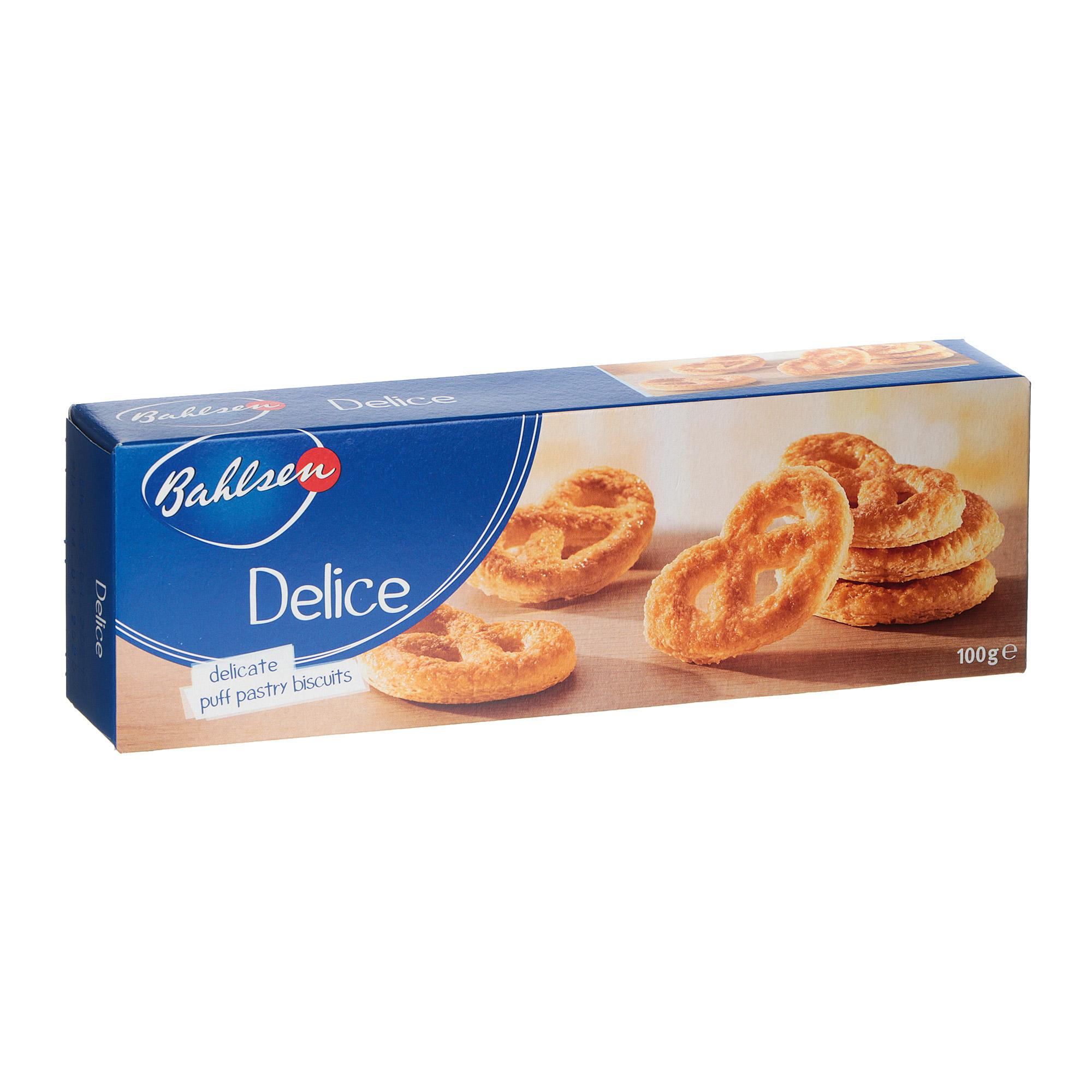 Печенье Bahlsen Delise слоеное Крендельки 100 г печенье слоеное 550г мон шарме