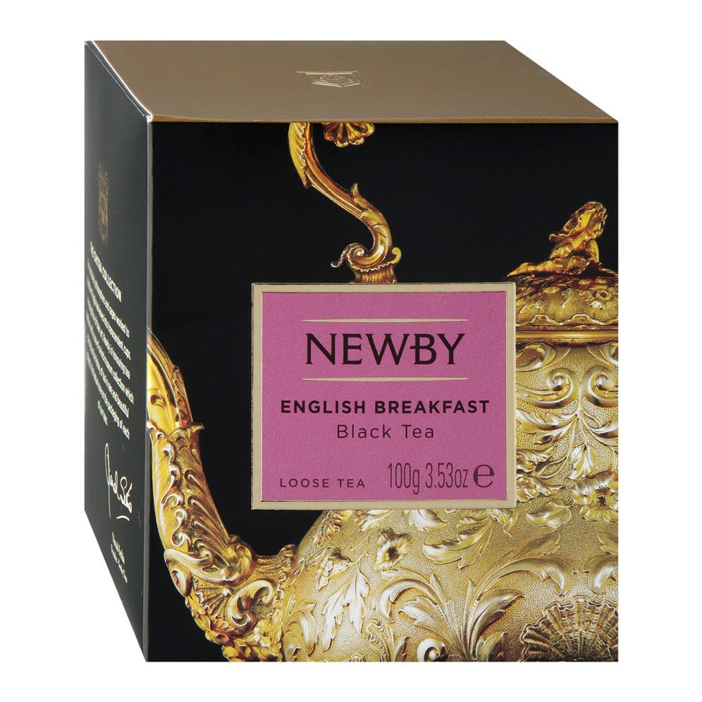 Чай черный Newby English Breakfast листовой 100 г чай черный newby с чабрецом листовой 100 г
