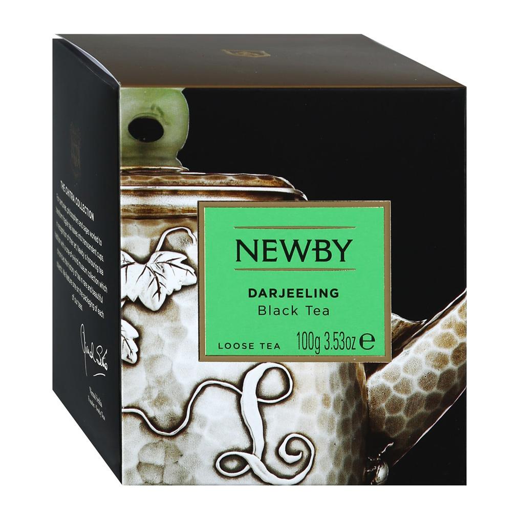 Чай черный Newby Darjeeling листовой 100 г чай черный newby с чабрецом листовой 100 г