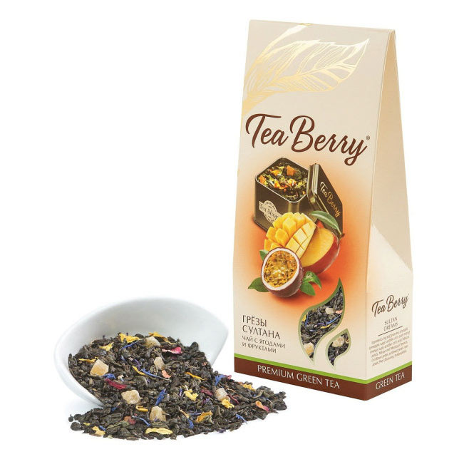 Чай зеленый Русская чайная компания Грёзы султана, 100 г