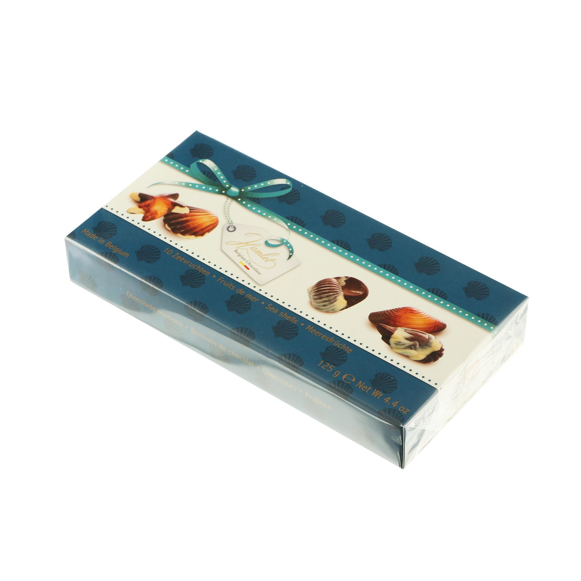 Конфеты шоколадные Hamlet Sea Shells Hazelnut 125 г