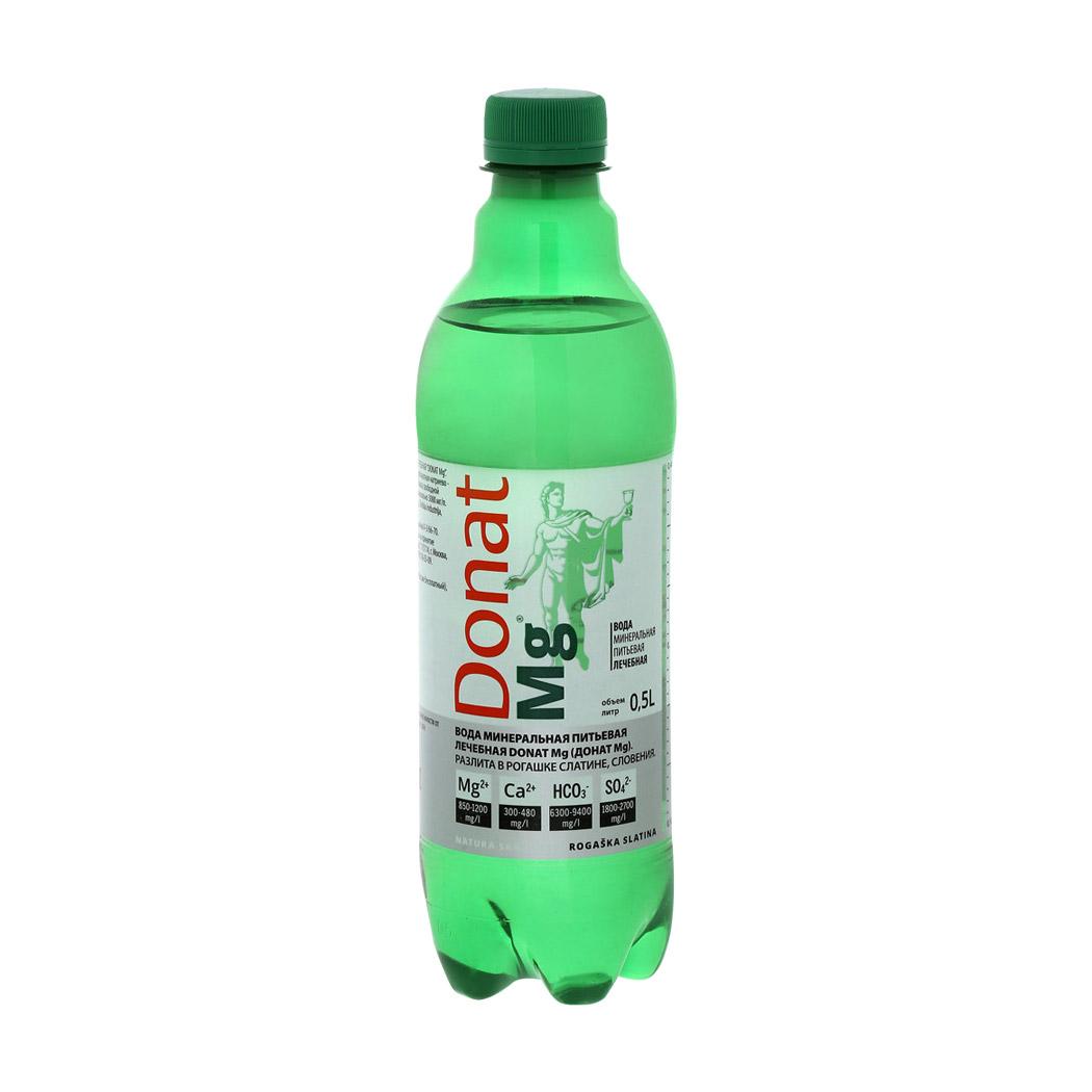 Вода минеральная Donat газированная лечебная 0,5 л