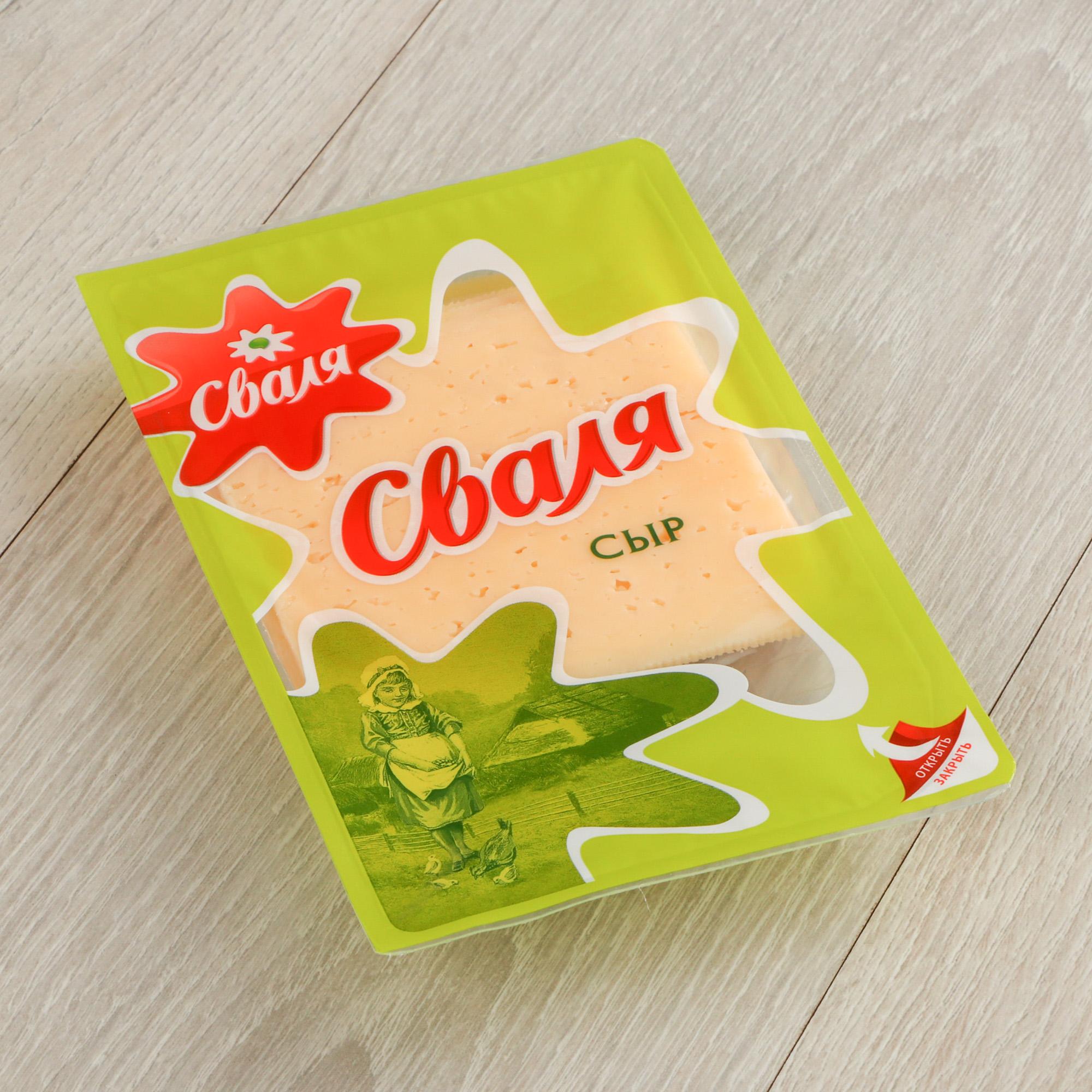 Фото - Сыр Сваля Тильзитер 45% 200 г сыр полутвердый сваля тильзитер ломтики 45