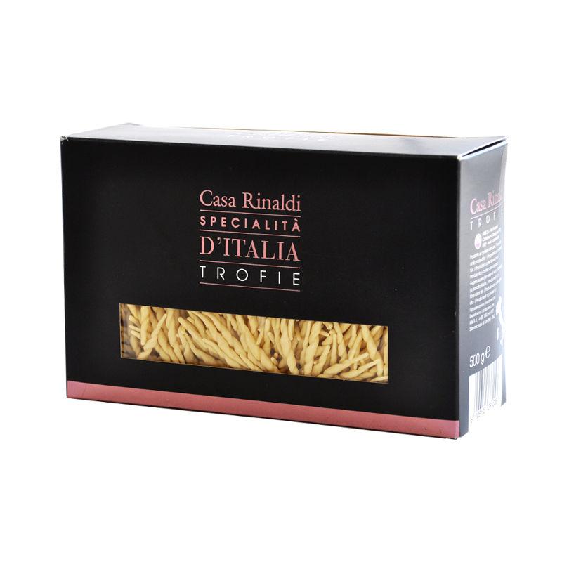 Макаронные изделия Casa Rinaldi Паста Лигурийская ручной работы 500 г макаронные изделия casa rinaldi тортильони bio 500 г