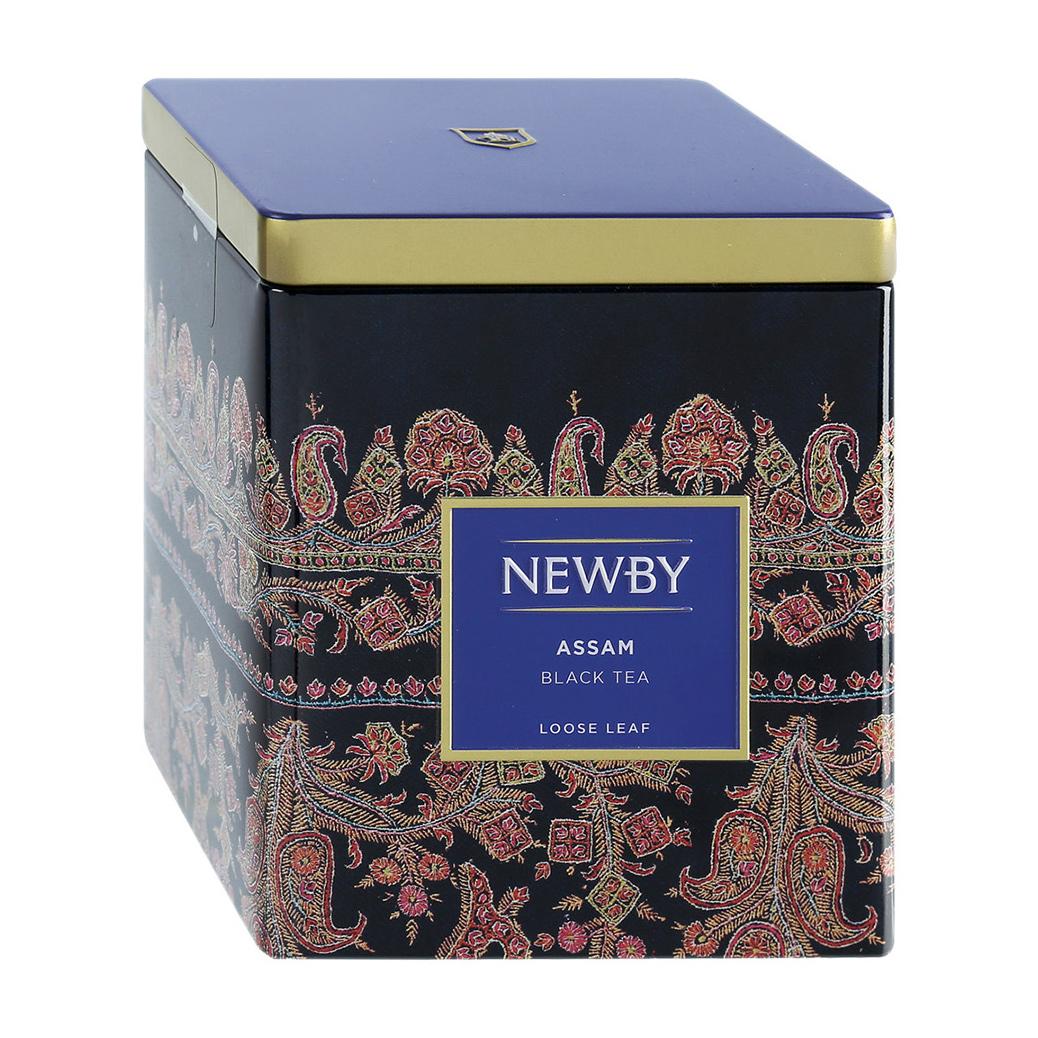 Чай черный Newby Ассам листовой 125 г чай черный newby с чабрецом листовой 100 г