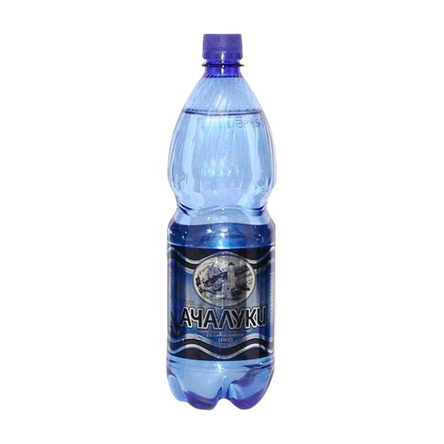 Фото - Вода минеральная Ачалуки газированная 500 мл вода минеральная горячий ключ 2000 газированная 500 мл