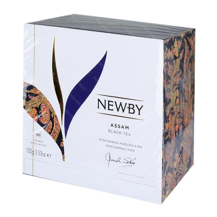 Чай черный Newby Assam 50 пакетиков