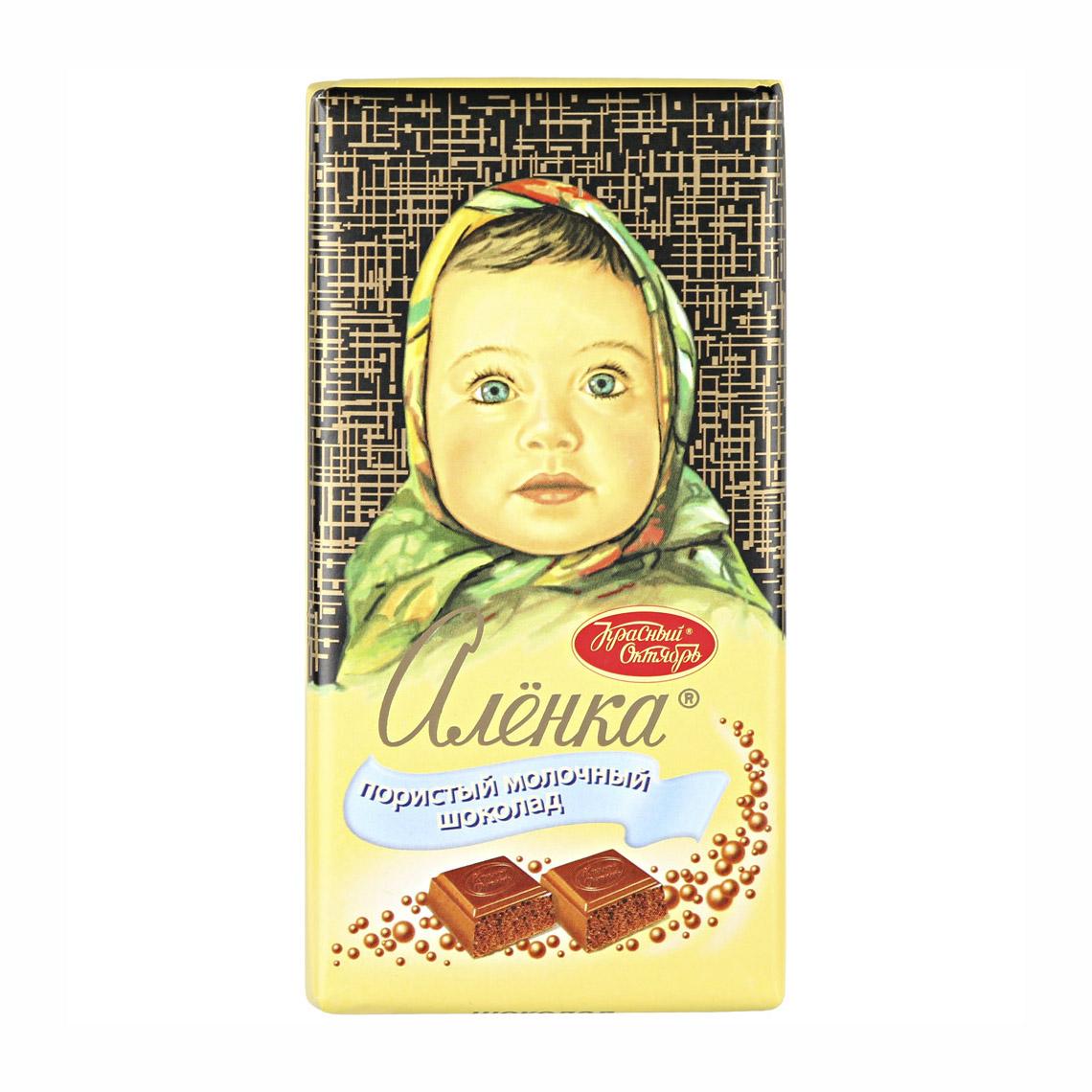 шоколад молочный аленка пористый 95 г Шоколад молочный Аленка пористый 95 г
