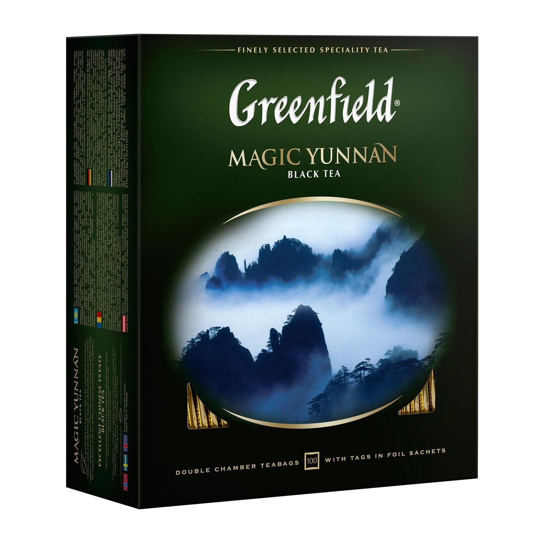 Чай черный Greenfield Меджик Юньнань 100х2 г