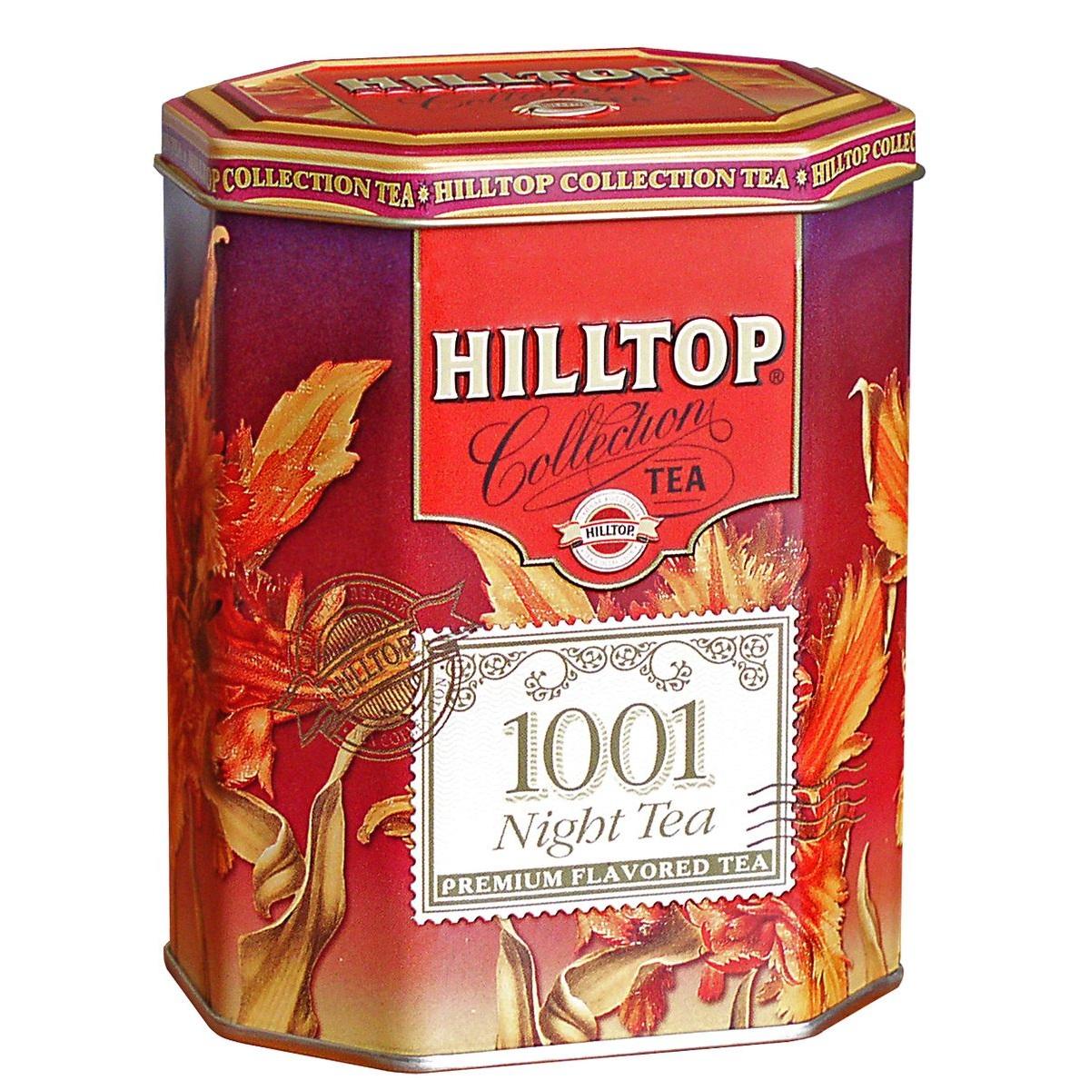 hilltop 1001 ночь ароматизированный листовой чай 125 г Чай смешанный Hilltop 1001 Ночь 100 г