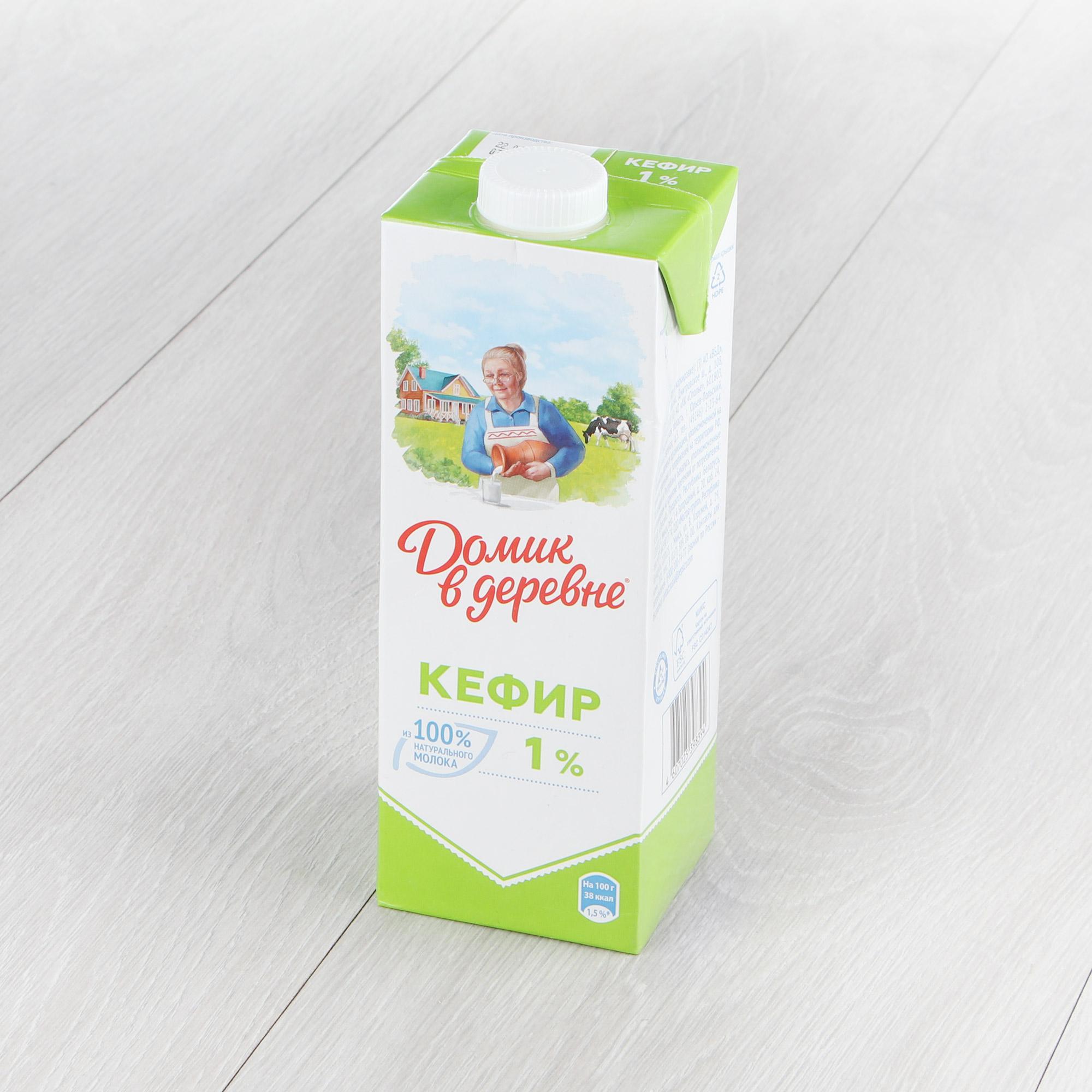 Кефир Домик в деревне 1% 1 л недорого