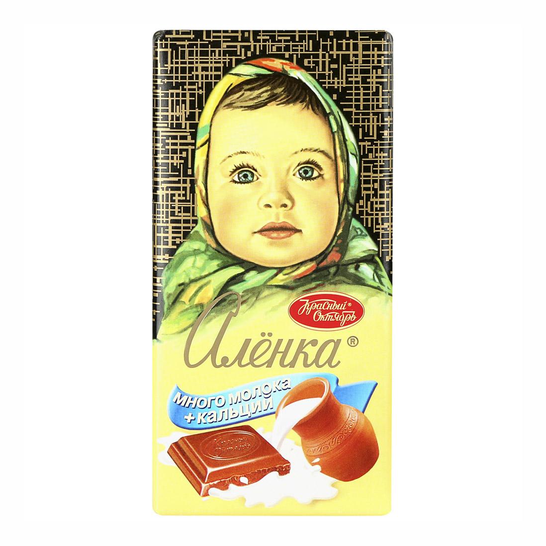шоколад молочный аленка пористый 95 г Шоколад молочный Аленка Много молока 100 г