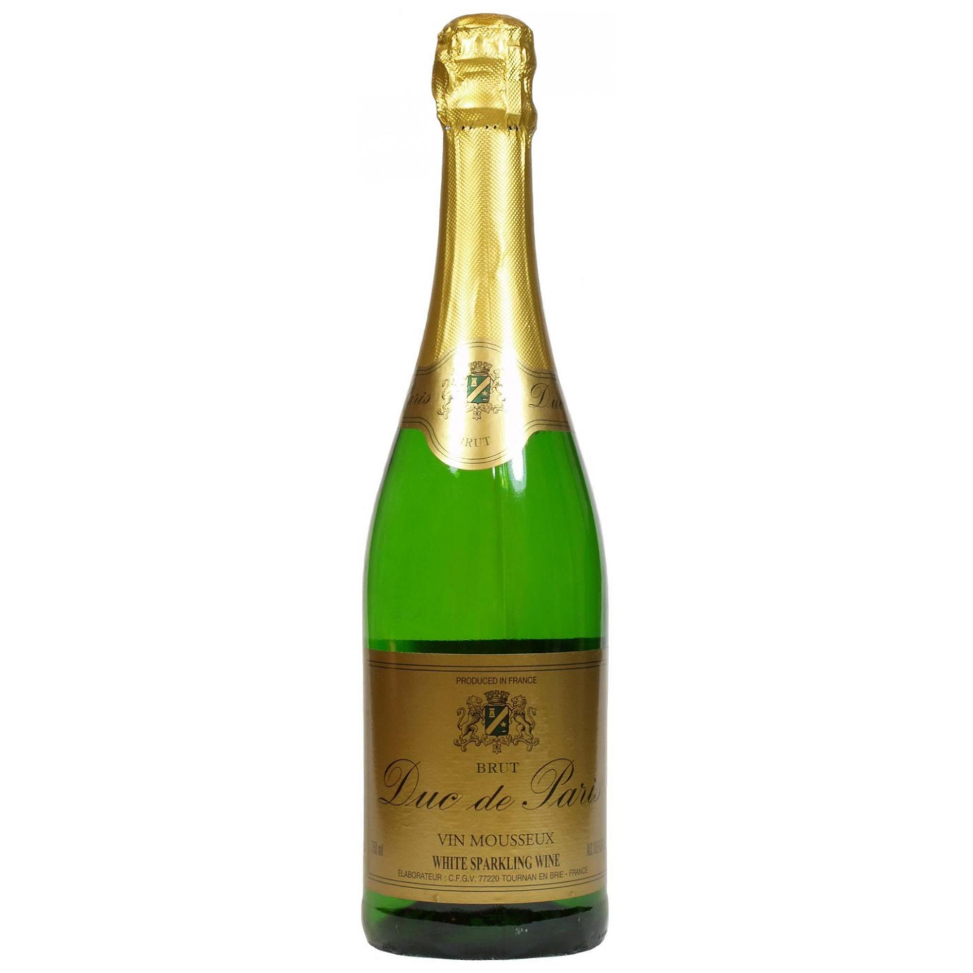 Игристое вино Duc de Paris Brut 0,75 л