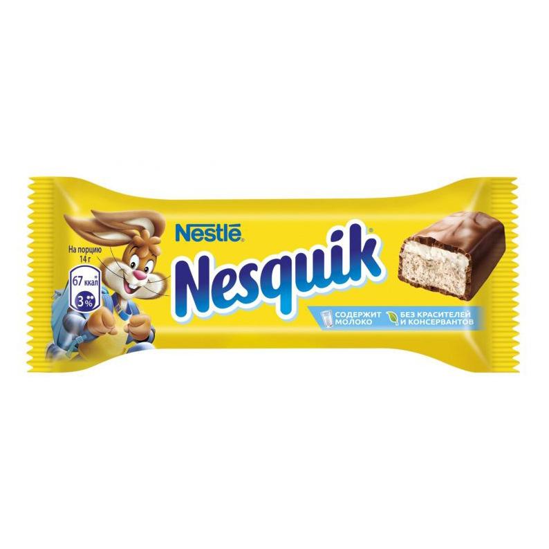 Шоколадный батончик Nesquik 28 г