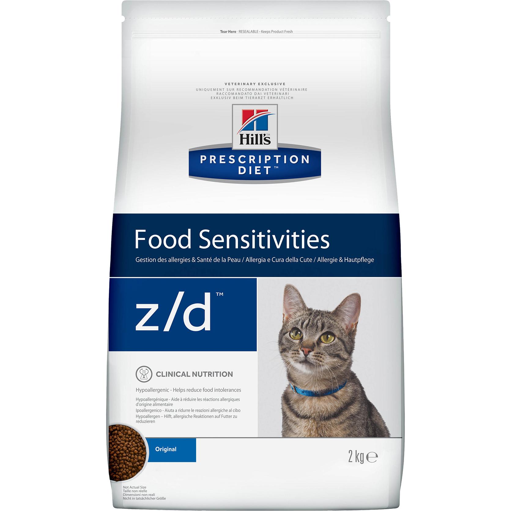 Корм для кошек Hills Prescription Diet z/d Food Sensitivities 2 кг