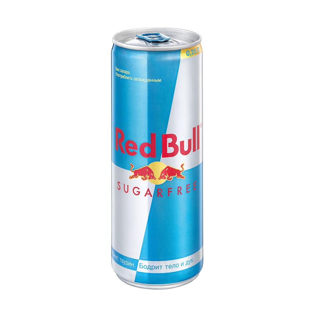 Напиток энергетический Red Bull без сахара 250 мл