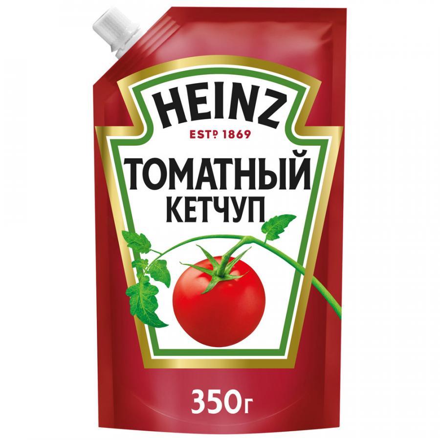 Фото - Кетчуп Heinz Томатный, 350 г кетчуп томатный heinz чеснок и пряности