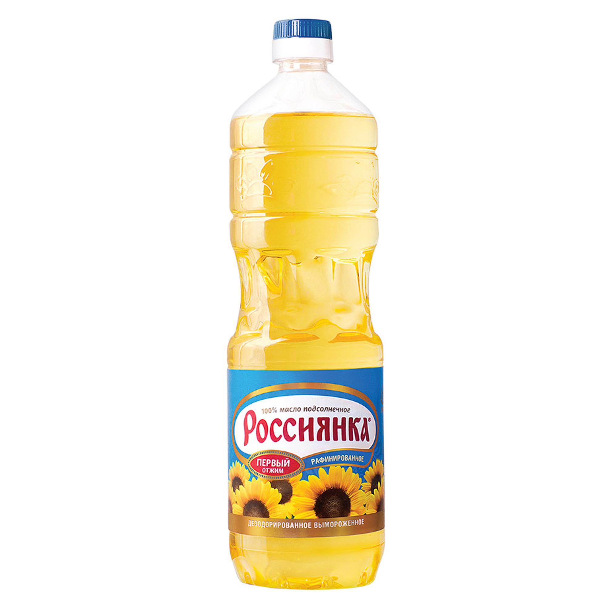 Масло подсолнечное Россиянка 1 л