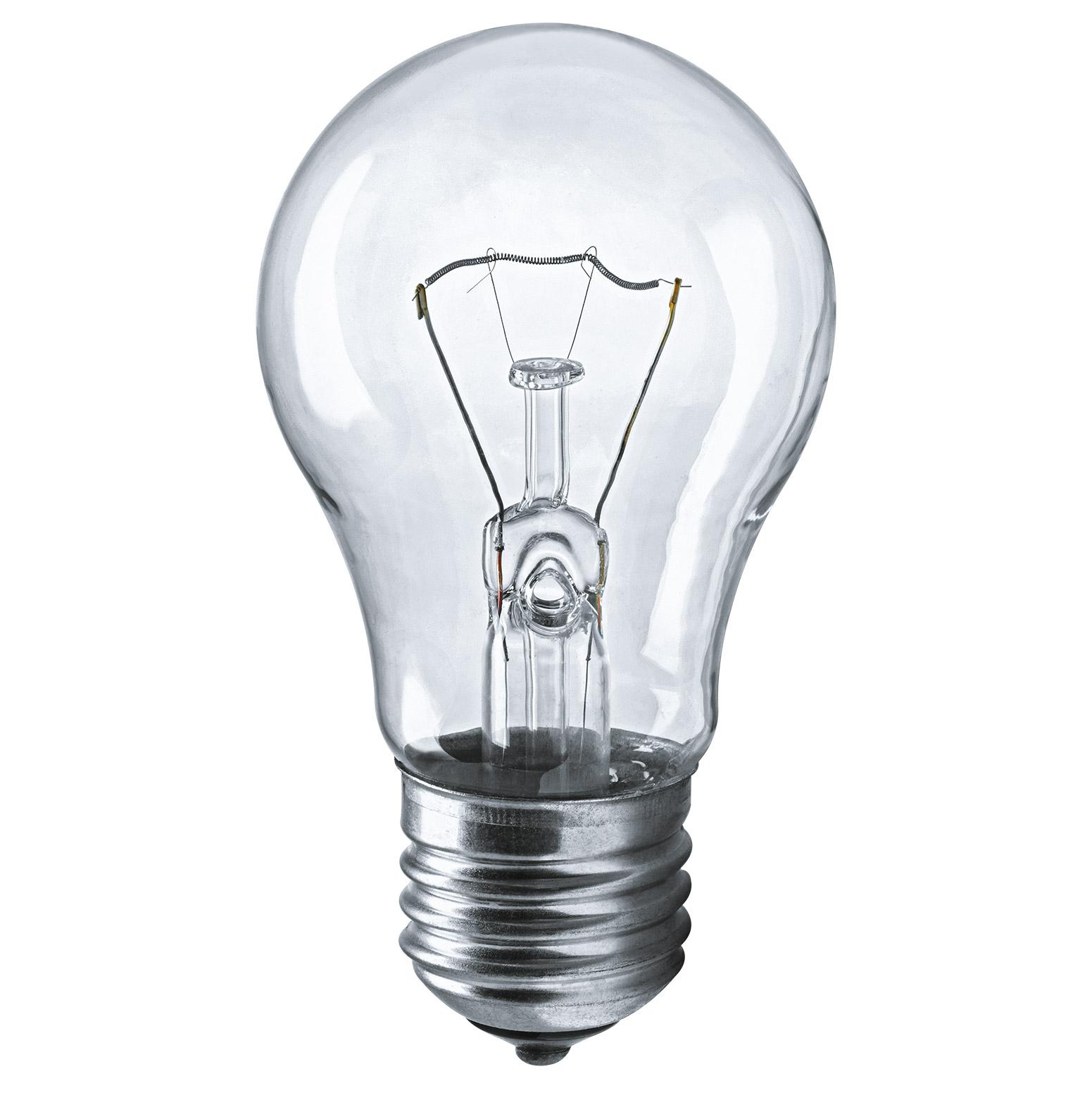 Лампа накаливания Navigator груша прозрачная 60Вт цоколь E27