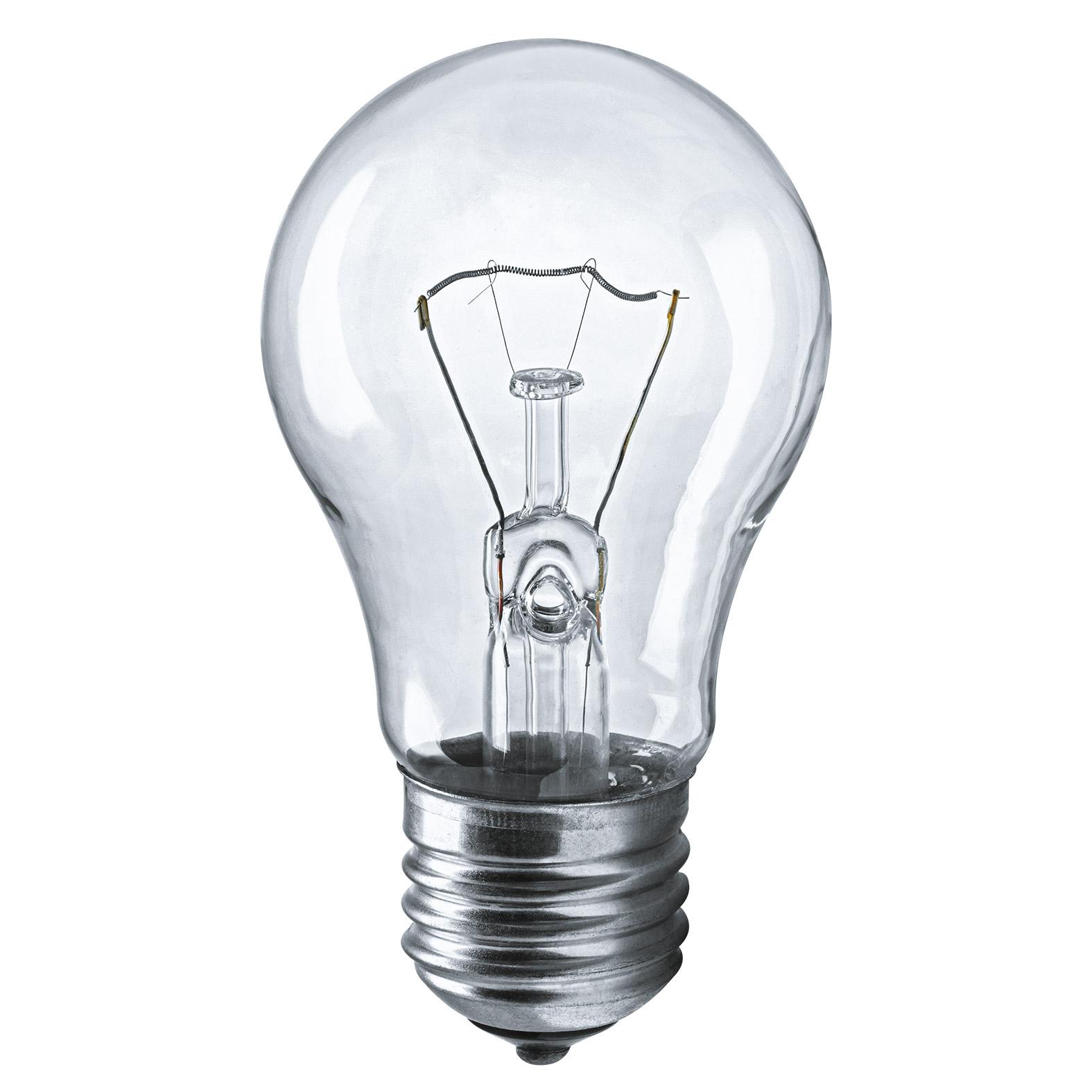 Лампа накаливания Navigator груша прозрачная 75Вт цоколь E27