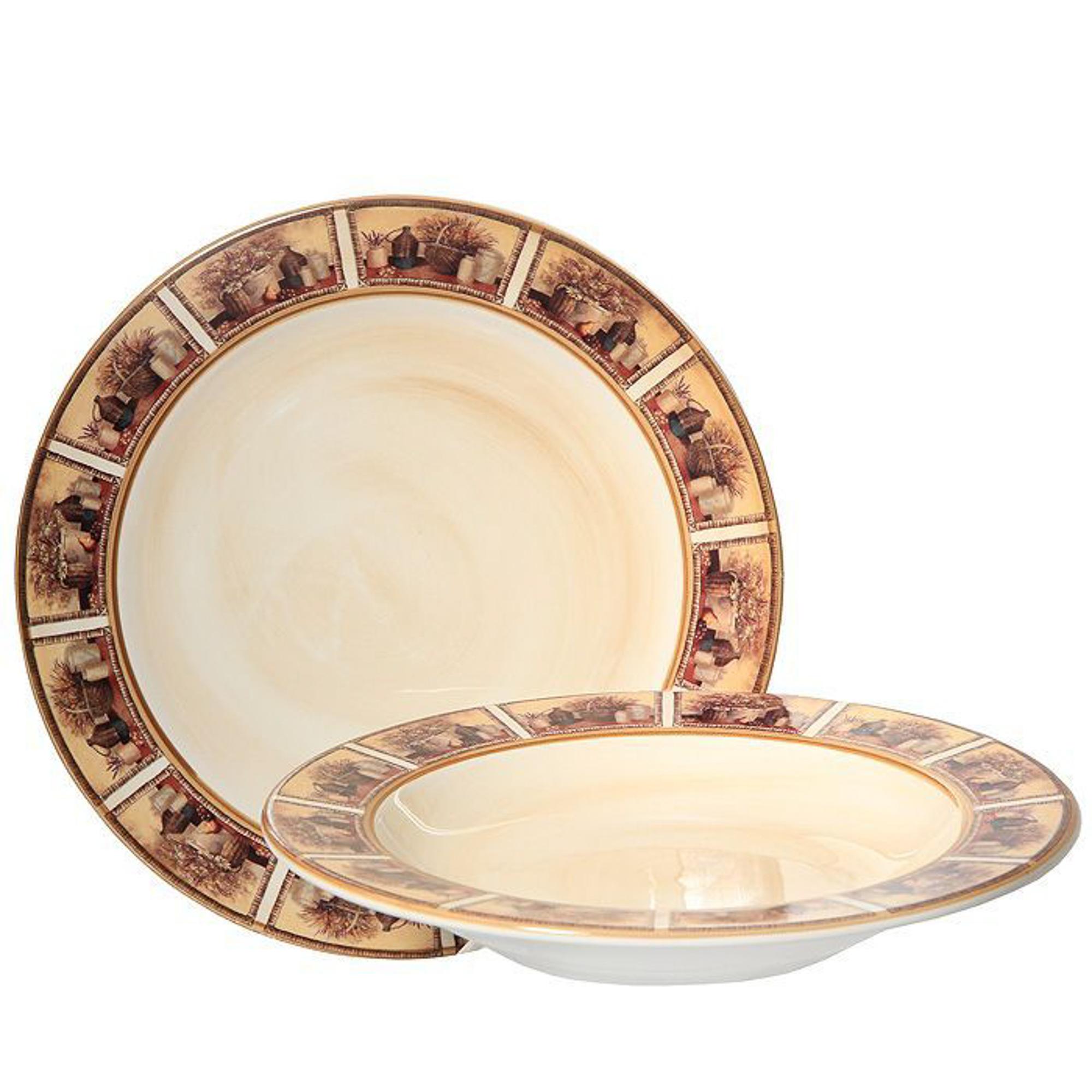 Набор тарелок LCS Натюрморт 2 шт