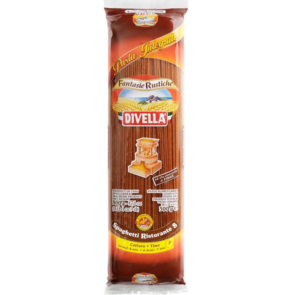 Макаронные изделия Divella Brown Ristorante 500 г макаронные изделия ашан ракушки 500 г