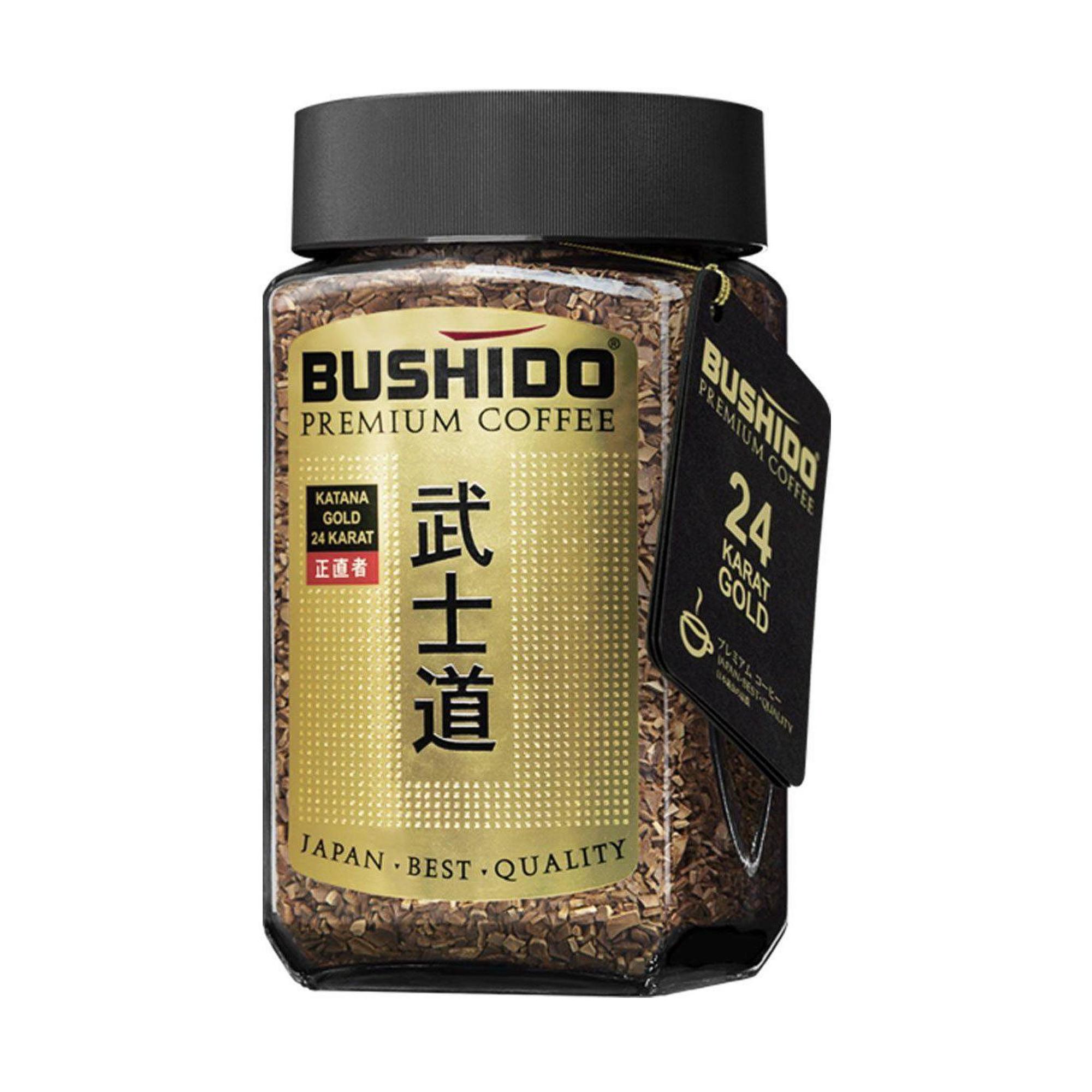 Кофе растворимый Bushido Katana Gold 100 г фото