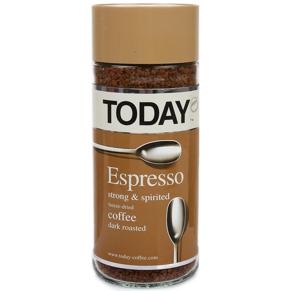 Кофе растворимый Today Espresso 95 г фото