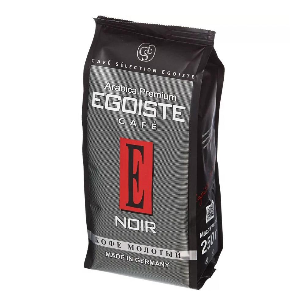 Кофе молотый Egoiste Noir 250 г фото