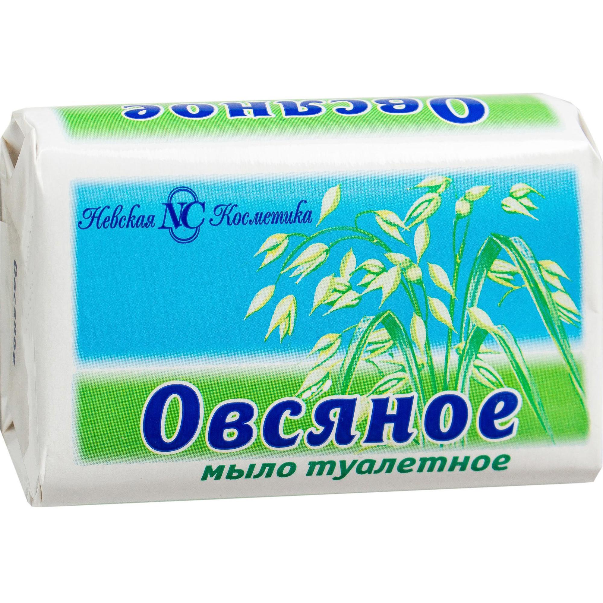 Туалетное мыло Невская Косметика Овсяное 90 г